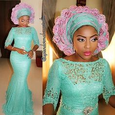 Dress Inspiration mua @splendormakeupstudio #dressinspiration #gele #color #cut #details #instapost #guestlook