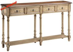 If you've ever opened your home to host a family party, you know the anxiety that goes along with it. http://www.reecefurniture.com/products/57331-gentry-antique-dustry-linen-console-table?utm_campaign=social_autopilot&utm_source=pin&utm_medium=pin