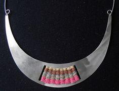 Amparo Joyería Textil: Collar Tejido