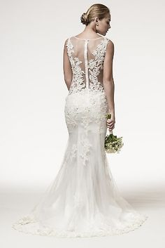 Lavender Kisses Boutique — THE NEW YORK GLAM WEDDING GOWN Lace Mermaid 2b26d102d