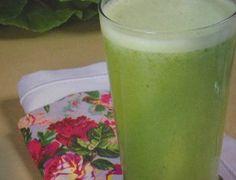 Suco verde para limpar o organismo - Ideal Receitas