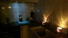 Outhouse kitchen  proud of it