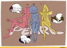 Steven universe,фэндомы,SU art,SU Персонажи,Pearl (SU),Yellow Pearl,Blue Pearl