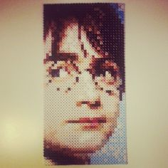 Harry Potter portrait - Harry Potter Nabbi perler beads by parldags