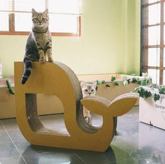 Whale have a jolly good time with this cat scratcher. | 27 Wonderful Christmas Gifts To Give Your Cat