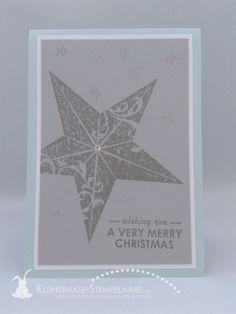 Stampin Up Christmas Star Immergrün Wishing You Weihnachten 01