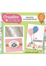 Creative Dies Balloon & Flower Die Set from More Mags Dot Com Dot Au...