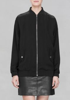 And Other Stories | Bomber Jacket | Black