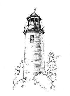 Official art website of North American artist Ronald Suchiu includes art, prints, canvas art, original art pieces and exciting Suchiu merchandise. Lighthouse Sketch, Lighthouse Painting, Watercolor Landscape, Watercolor Art, Stippling Art, Building Drawing, Wood Burning Art, Nautical Art, Pencil Art Drawings