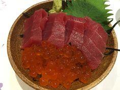 Ikura Maguro don