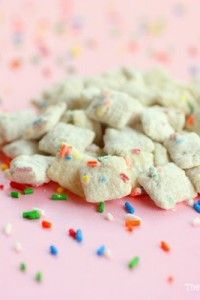 Cake Batter Muddy Buddies