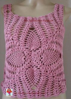 summer shirt crochet more patters (for women) - crafts ideas - crafts for kids