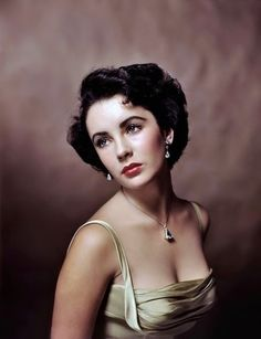 Elizabeth Taylor by Philippe Halsman, 1948. (Sidenote: This portrait is often incorrectly attributed to Yousuf Karsh. Halsman did, in fact, take this photo during a session for LIFE magazine to mark the occasion of Elizabeth's sixteenth birthday and should be duly credited.)