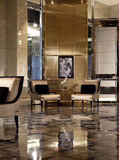 TRUMP INTERNATIONAL HOTEL & TOWER PUBLIC SPACES – II BY IV DESIGN