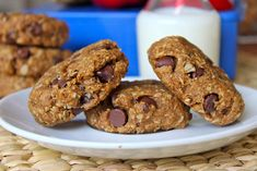 Back-to-School Chocolate Chip Granola Breakfast Cookies