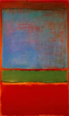 Mark Rothko on Pinterest | Blue Green, Abstract Art and Oil On Canvas