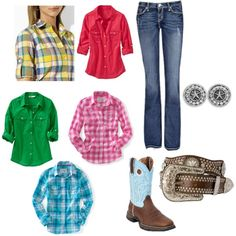 Cattle Show outfit, created by lrbajos on Polyvore