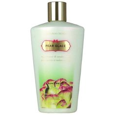 Victorias Secret Pear Glace Body Lotion (250ml) ❤ liked on Polyvore featuring beauty products, bath & body products, body moisturizers, perfume, beauty, victoria secret perfume and victoria's secret