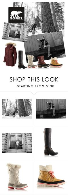 """Tame Winter with SOREL: Contest Entry"" by kalaidadia ❤ liked on Polyvore featuring SOREL and sorelstyle"