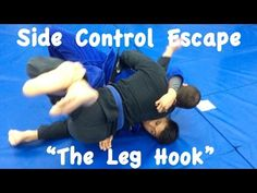 2 SIDE CONTROL ESCAPES: Leg Hook 1 and 2 with Professor Christopher Costa
