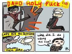 """Dishonored 2, doodles #31 """"Death of the Outsider"""" Trailer. me asf"""