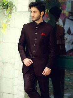Wine Colour Designer Jodhpuri Suit,Jodhpuri suit,Jodhpuri suit for wedding,Jodhpuri Suit for men - Jodhpuri suits for men - Wedding Dresses Men Indian, Wedding Dress Men, Wedding Men, Wedding Suits, Trendy Wedding, Punjabi Wedding, Forest Wedding, Indian Weddings, Purple Wedding