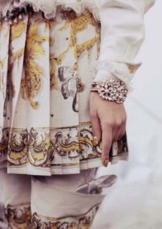 Meadham Kirchhoff S/S 2013 with Jewels by Lilien Czech