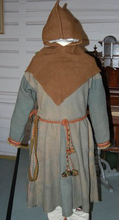 Reconstruction of the Skoldehamn clothing at the Lofotr Museum