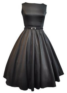Audrey Hepburn dress from Lady Vintage!  This is definitely the look I want to go for.  Modern day Audrey!