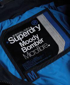 Superdry Microfibre Moody Bomber