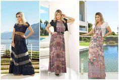 Modelos de vestidos longos da moda evangélica 2016