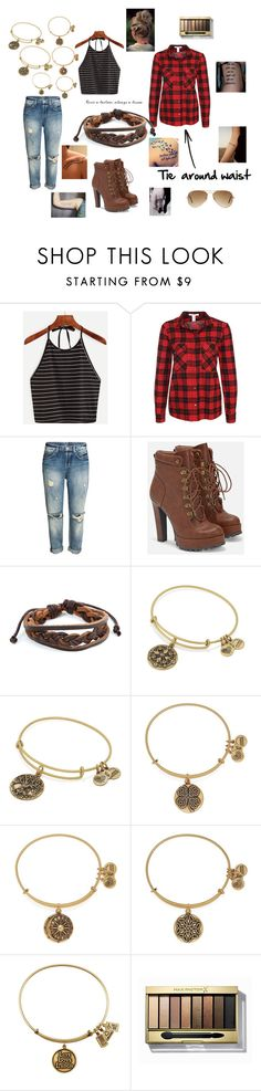 """""""Untitled #241"""" by mcl2000 on Polyvore featuring NLY Trend, JustFab, West Coast Jewelry, Alex and Ani, Max Factor and Ray-Ban"""