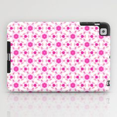 pretty pink iPad Case