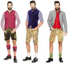 Mit Lederhose, Weste und Co. ist ein Mann schön in Tracht gekleidet - © Angermaier Trachten