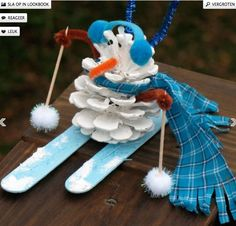 Creative and Fun Snowman art craft food ideas Pinecone Snowman Craft: Christmas Crafts for Kids & Homemade Ornaments .Pinecone Snowman Craft: Christmas Crafts for Kids & Homemade Ornaments . Kids Crafts, Pinecone Crafts Kids, Snowman Crafts, Christmas Crafts For Kids, Homemade Christmas, Christmas Projects, Preschool Crafts, Holiday Crafts, Snowman Party