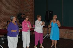 My 50th birthday with sisters Judy, Mary Jane, and Darlene...We are family, I got all my sisters with me:)