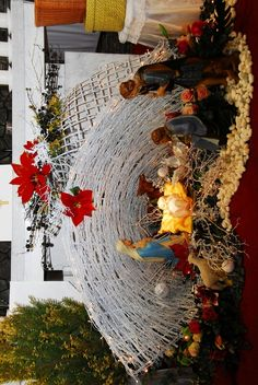 Outdoor Christmas, Christmas Ideas, Christmas Decorations, Christmas Tree, Holiday Decor, Nativity Scenes, Altar Decorations, Holidays And Events, Diy And Crafts