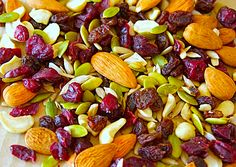 Don't rely on rest stops, fast food and gas stations to get your fill. Instead, prepare lots of pre-made healthy snacks that travel well. Think granola bars, trail mix, dried fruit and nuts. Depending on the length of the trip, hearty fresh fruits and vegetables like apples and baby carrots are great as well.