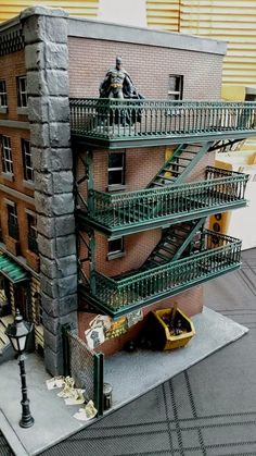 Tales of a Tabletop Skirmisher: Arkham City Limits - Batman Minis and Terrain Community