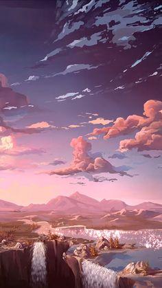 new anime aesthetic iphone wallpaper design - anime wallpaper hd Wallpaper Animes, Anime Scenery Wallpaper, Aesthetic Pastel Wallpaper, Landscape Wallpaper, Aesthetic Backgrounds, Nature Wallpaper, Aesthetic Wallpapers, Iphone Wallpaper Aesthetic Hd, Landscape Concept