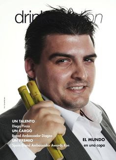 Un talento: Diego Pinza Revista Bar Business España Edición Junio 2011 Foto: © George Restrepo 2011.