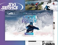 SkiService Corvatsch | Website Redesign & Development  http://be.net/gallery/59688101/SkiService-Corvatsch