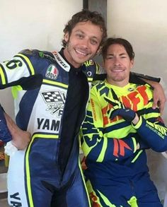 Rossi and Hayden, the best riders to ever bless the sportbike racing world!