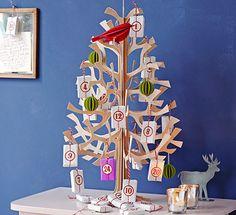 Anhängliche Geschenke - Adventskalender basteln 16 - [LIVING AT HOME]