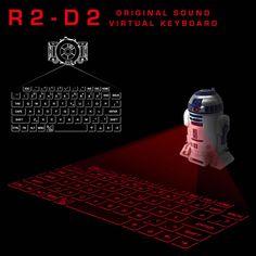 R2-D2 バーチャルキーボード【予約:8月下旬より順次発送予定】