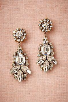 Ishtar Earrings from BHLDN #rockmywinterwedding @Rock My Wedding