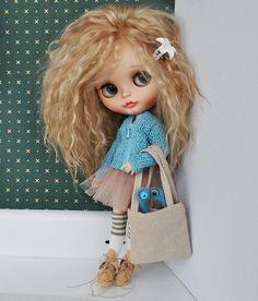 Doll with natural stitched hair Pretty Dolls, Cute Dolls, Beautiful Dolls, Blythe Dolls, Girl Dolls, Baby Dolls, Dolls Dolls, Barbie, Cute Cartoon Wallpapers