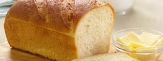 Basic White Bread | While it's easy to make, there's nothing basic about the taste of this delicious white bread recipe.