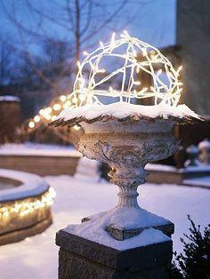 topiary of light