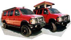 Sportsmobile Custom Camper Vans - Penthouse Tops